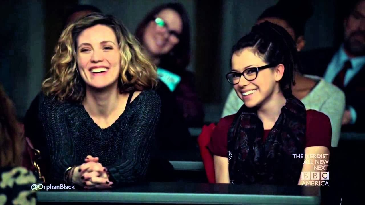 orphan black delphine and cosima