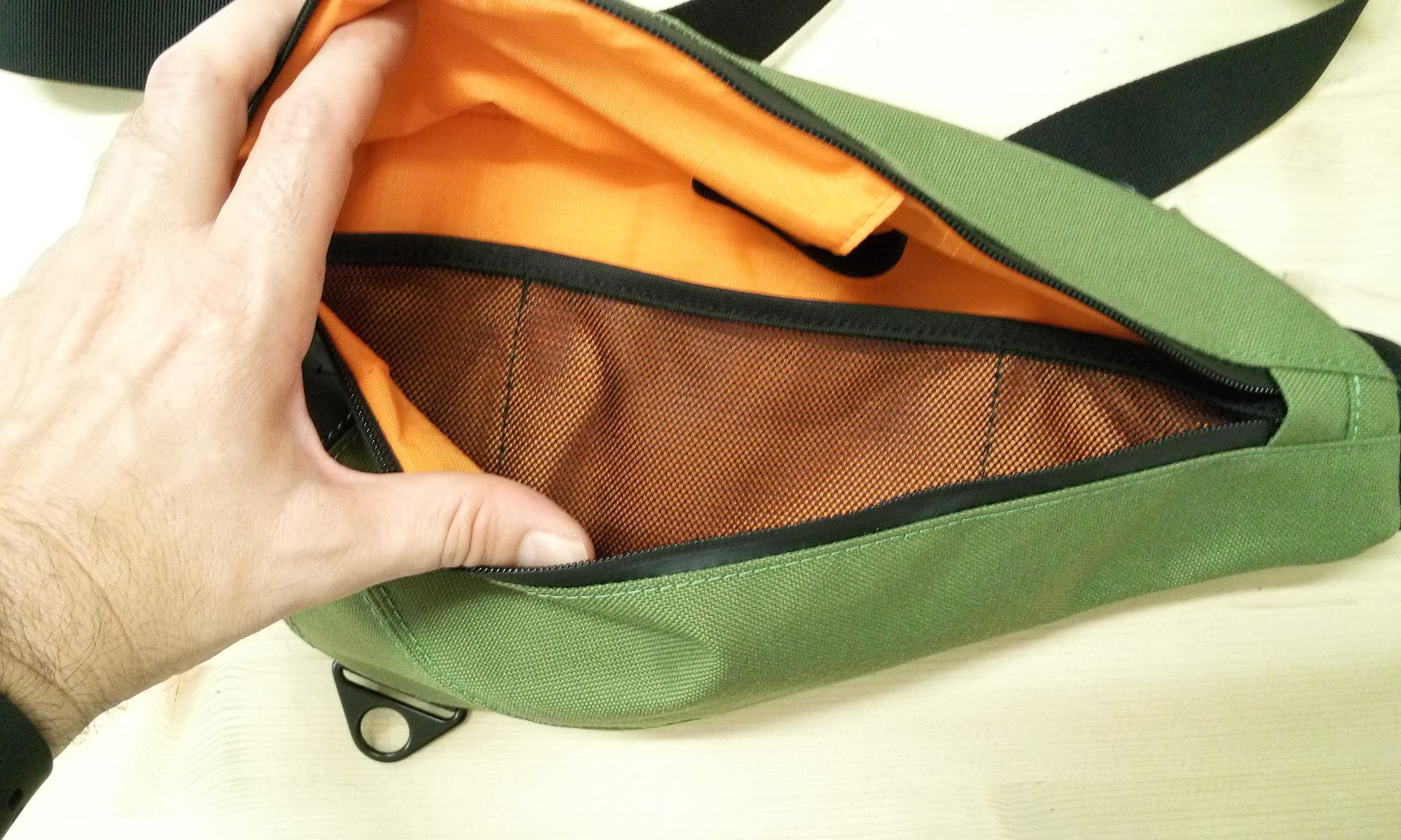 The Fixed Gear World: #ProductReview | Unboxing of KP Sling Bag by ...