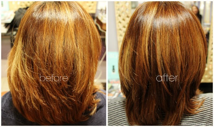 phyto color review before after - Coloration Phyto