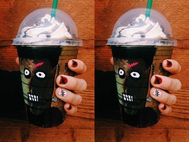 Starbucks Offering New Franken Frappuccino Through Halloween ...