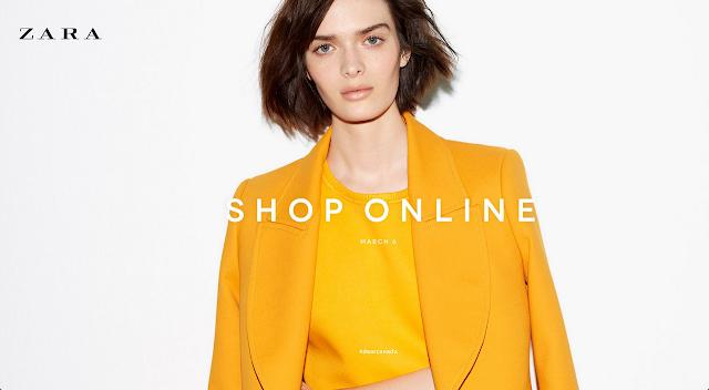 Zara Canada online shopping