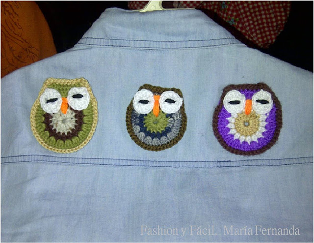 Crocheted Owls  Buhos Crochet 4  Blog Fashion Y F  Cil