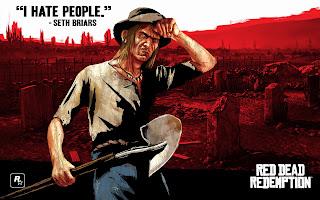 image d'un mineur avec sa pelle du jeu Red Dead Redemption