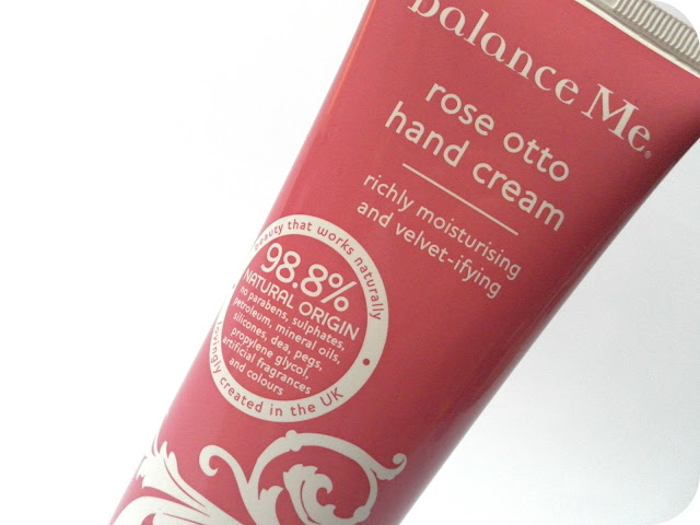 A picture of Balance Me Rose Otto Hand Cream
