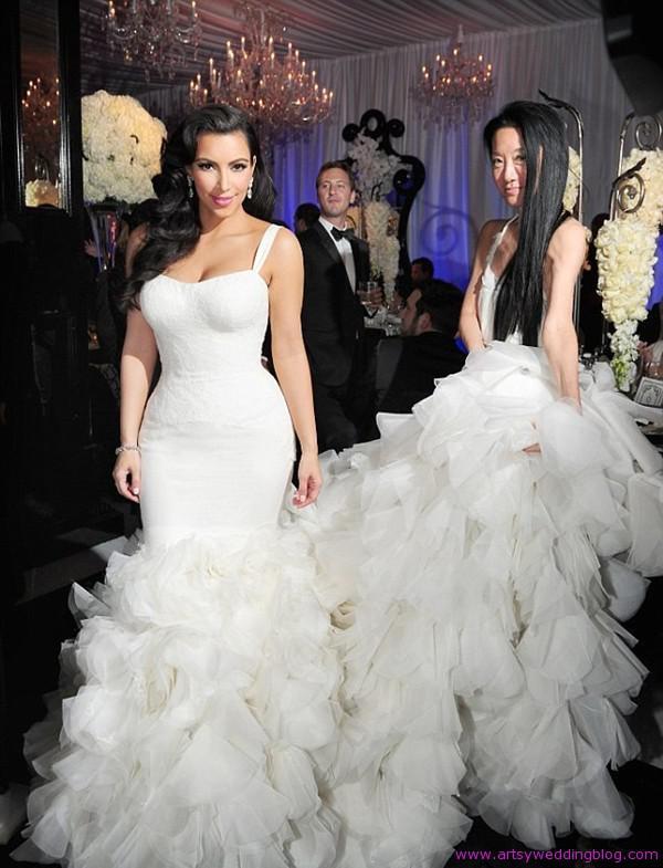 Liz John Black Celebrity Wedding Dresses Ratedol Stuff