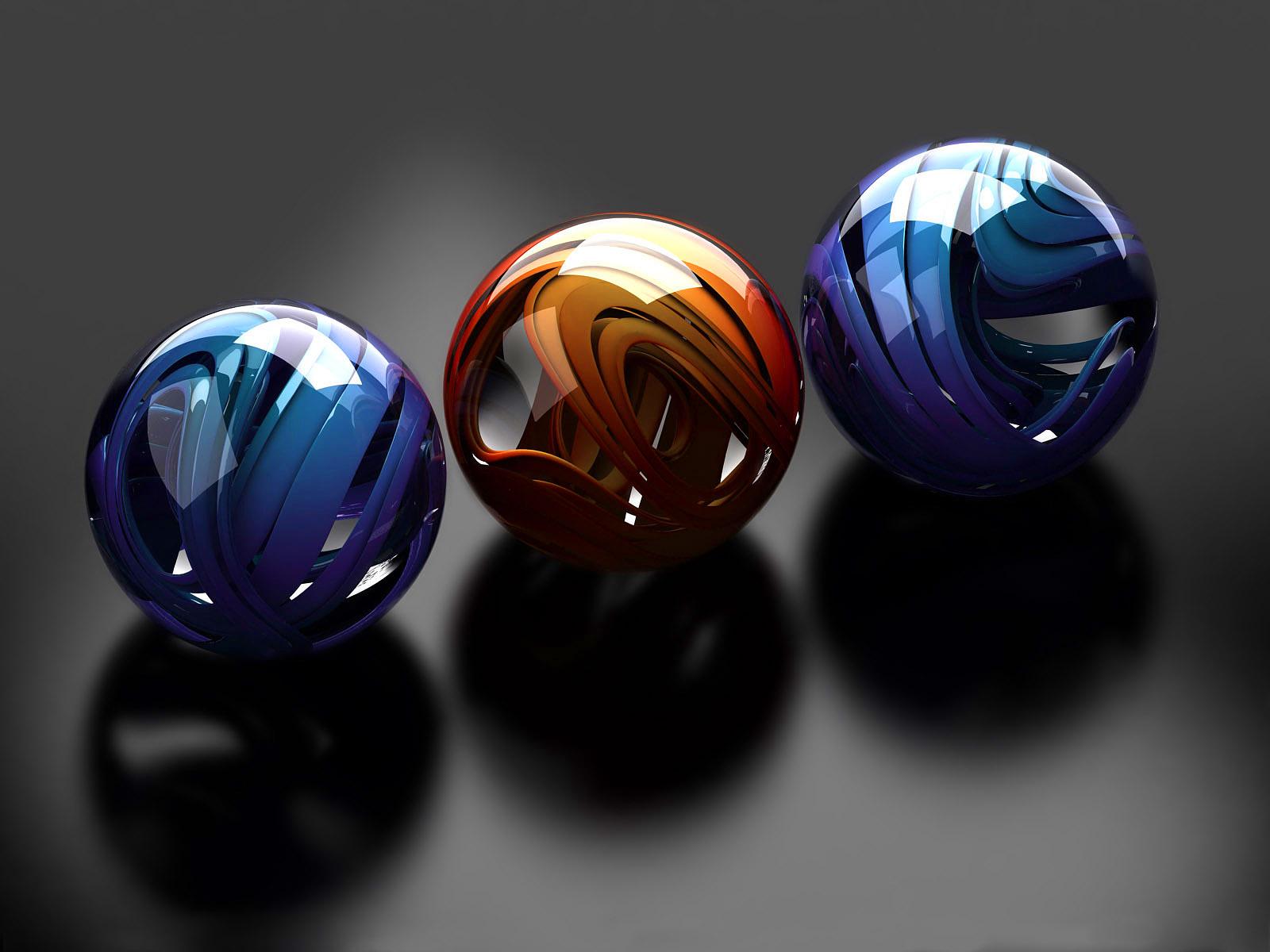 3d balls wallpapers top best hd wallpapers for desktop for Best 3d wallpaper