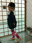 legging n hi mom shoes