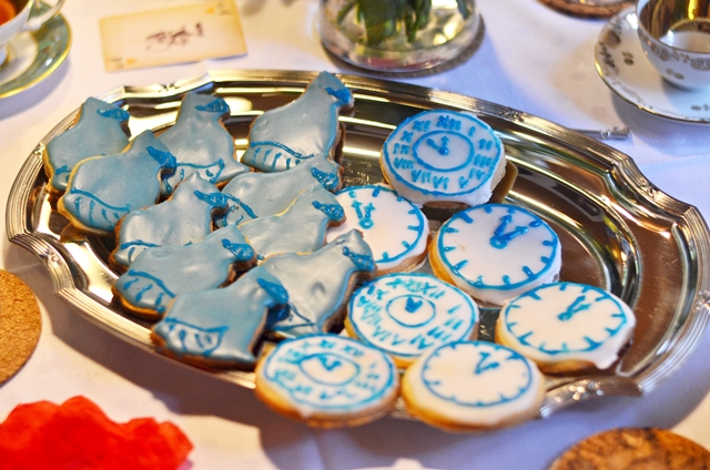 mad tea party cookies