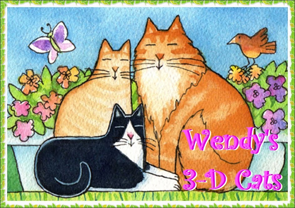 Wendy&#39;s 3-D Cats