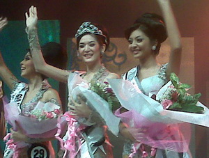 Biodata Foto Maria Selena Pemenang Putri Indonesia 2011