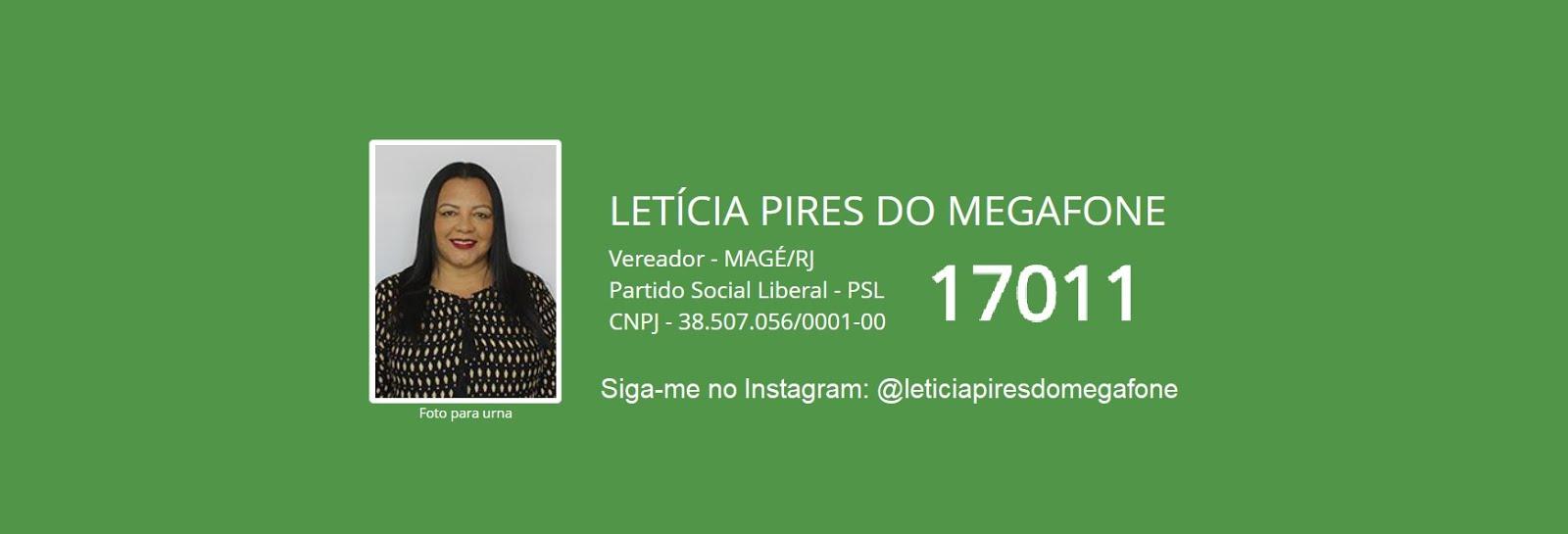 Candidata a vereadora, Letícia Pires do Megafone, Eleições 2020,