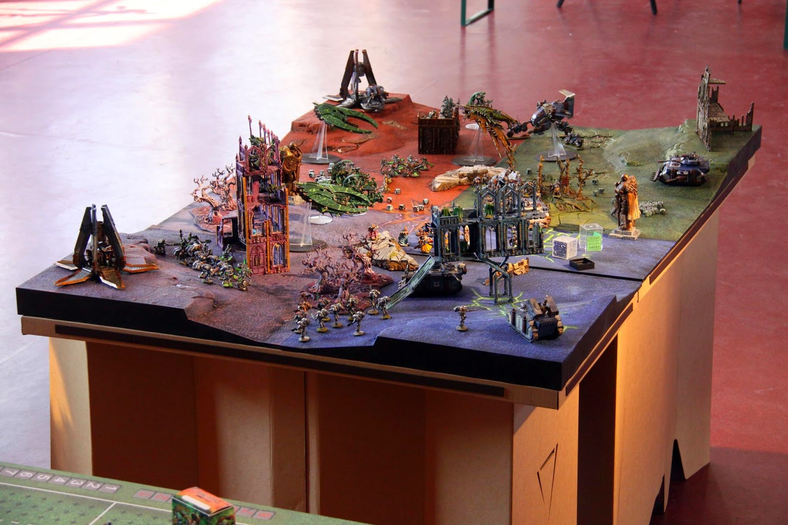wargaming table solution found the 4th war equipment corp On table warhammer