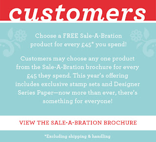 Sale-a-Bration, how to get free Stamp Sets and Papers