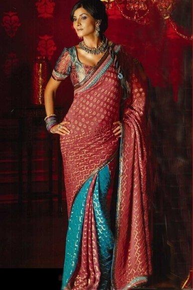 Gown: Neeta Lulla Designer Sarees