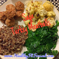 Tips to stay on track this Labor Day! Turkey Meatballs, www.HealthyFitFocused.com Julie Little