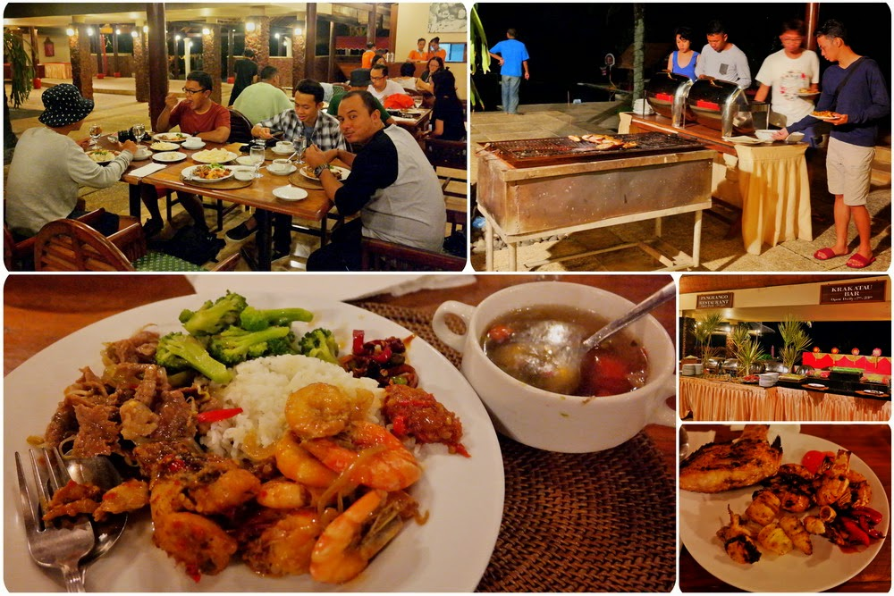 Makan di Tanjung Lesung