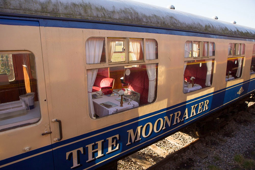 Moonraker dining cars, Swindon and Cricklade railway