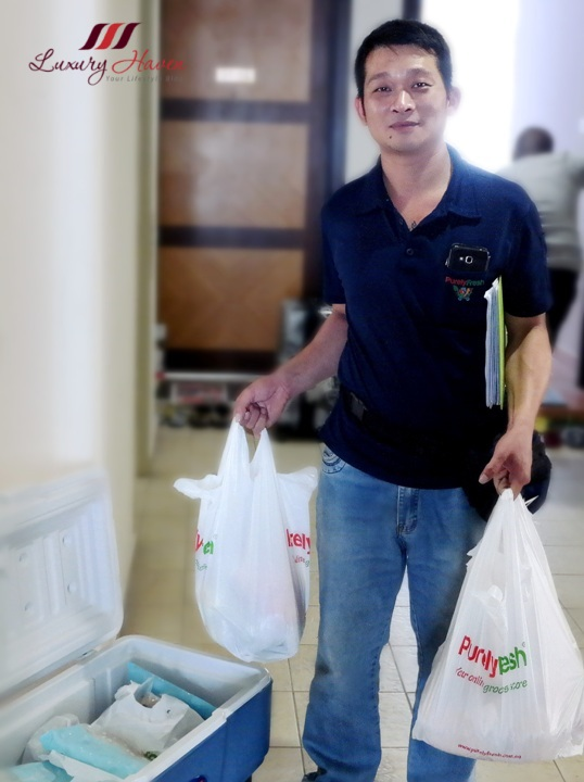 purelyfresh friendly service singapore online grocery shopping