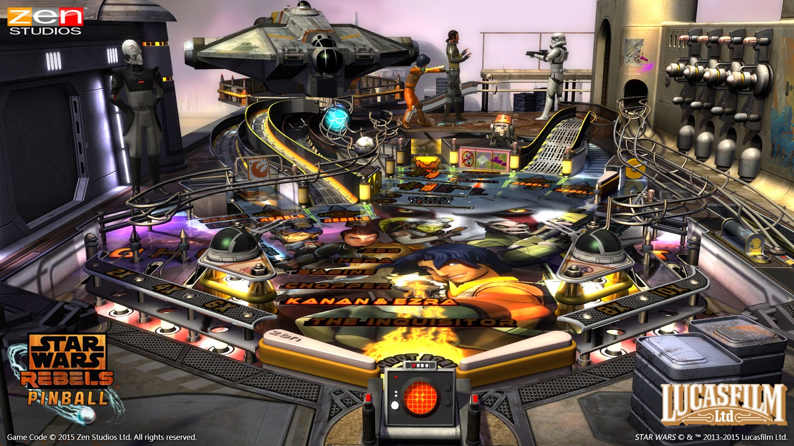 star wars, rebels, ps vita, pinball