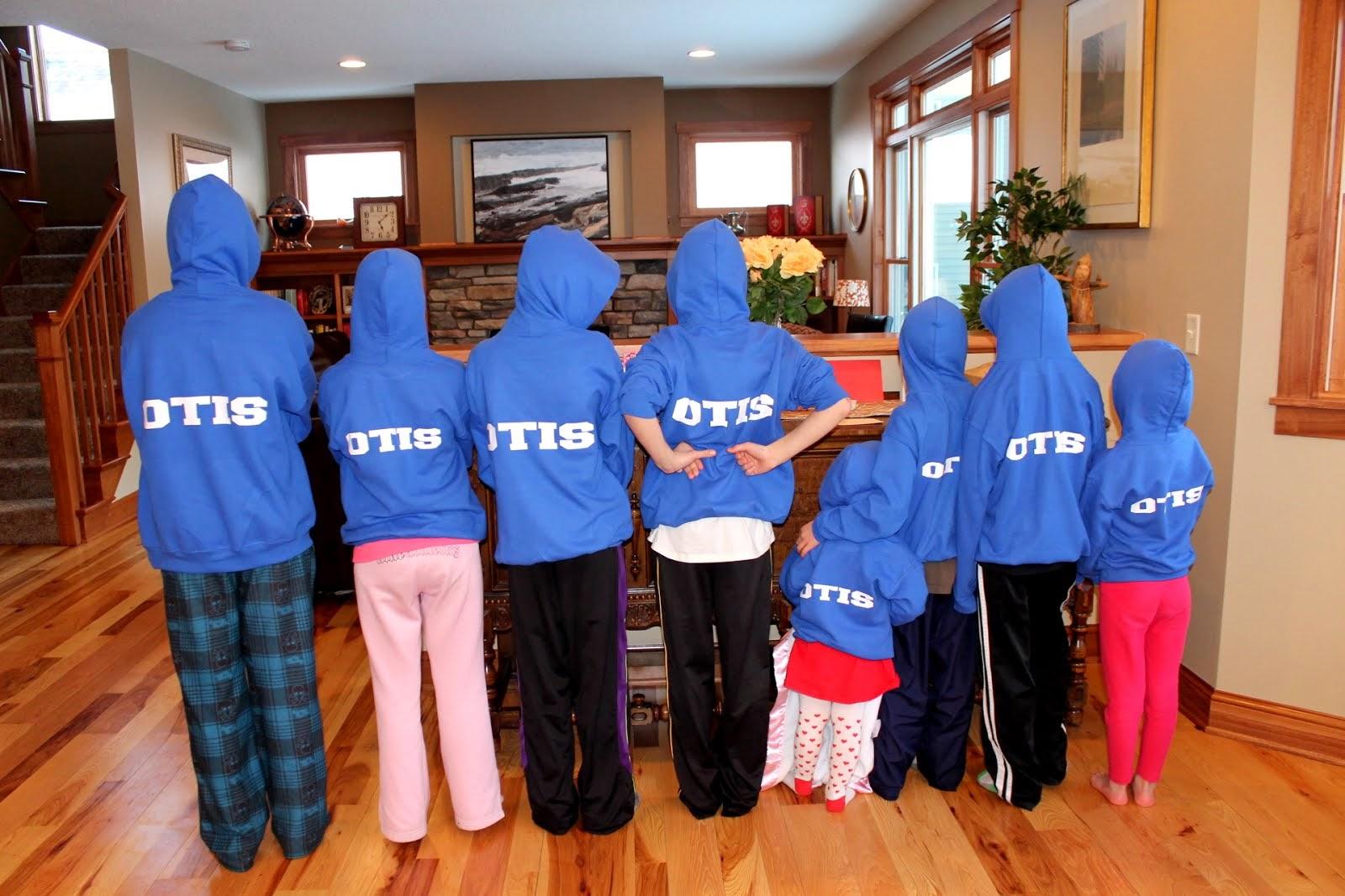 Otis Kids Hoodies