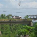 puente sobre el rio Monga en Olanchito