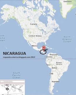 NICARAGUA google maps