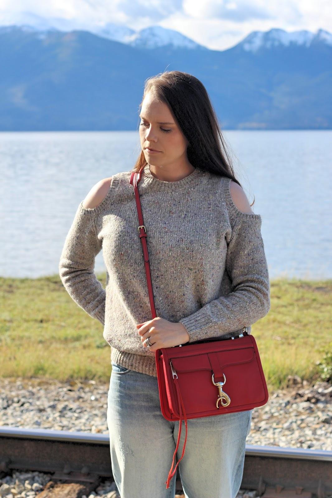 rebecca minkoff cut out sweater