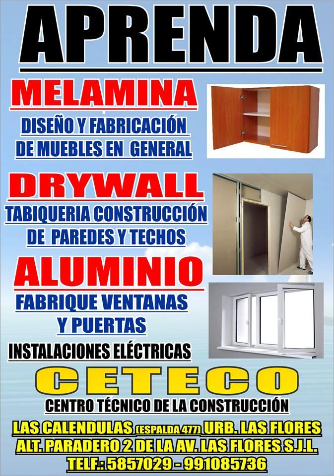 Cursos t cnicos ceteco cursos t cnicos ceteco curso for Curso de carpinteria en melamina pdf