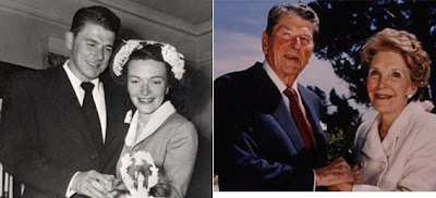Ronald Reagan and Nancy Davis