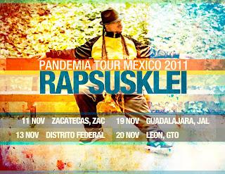 Rapsusklei en México 2011