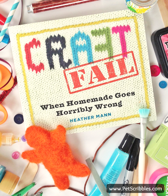 Gift for the DIYer: the new Craft Fail book by Heather Mann is a MUST have for you and everyone on your gift list!