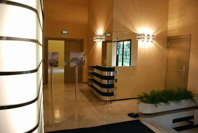 Le blog des amis de la villa cavrois int rieur for Petite villa moderne interieur