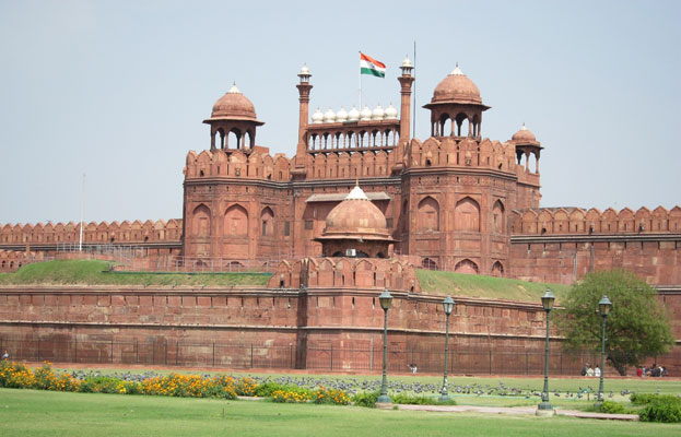 Palace fort of Shahjahanabad the Red Fort Complex India