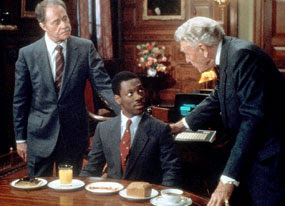 The Story Of How Randolph Duke (Ralph Bellamy) And Mortimer Duke (Don  Ameche) Take Billy Ray Valentine (Eddie Murphy) From The Streets And Turn  Him Into A ...