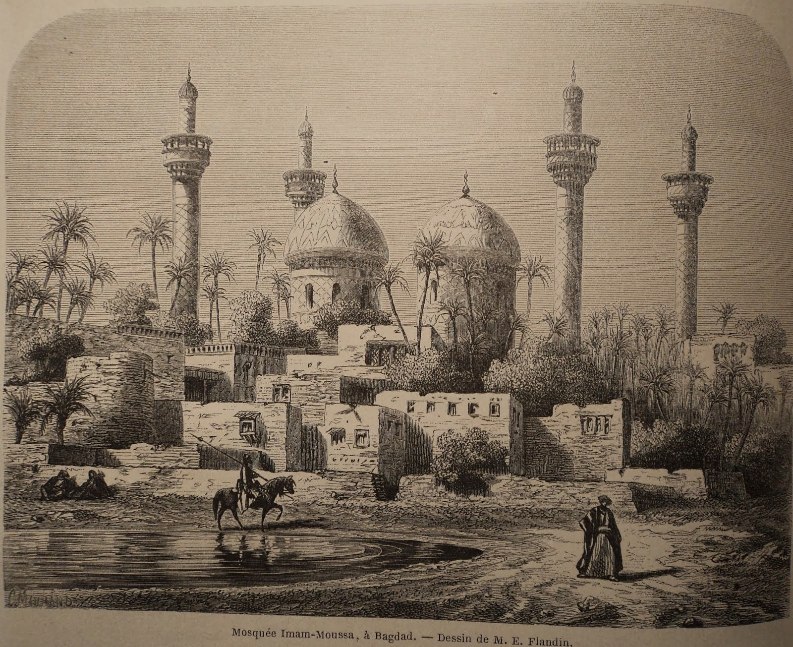 Bagdad est la perle de l'Histoire et son arôme délicieux !