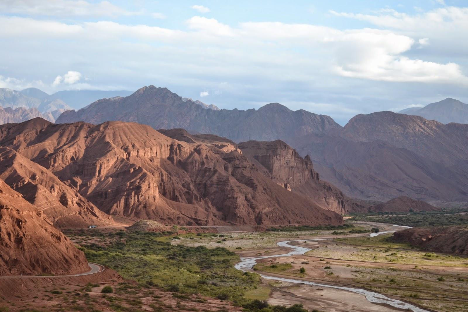 Quebrada de Las Conchas cafayate argentina