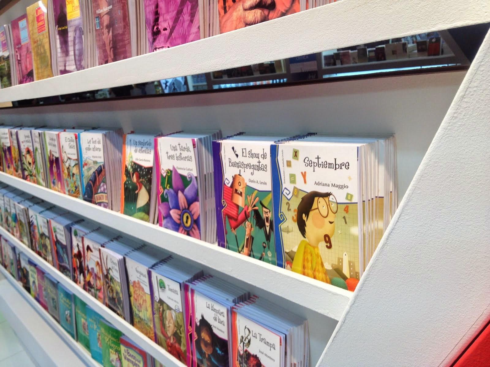 Septiembre, en la 40 Feria del Libro, en Bs As