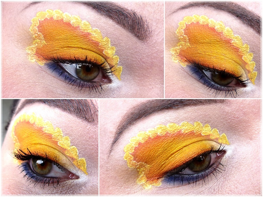 Sailor Venus eye makeup