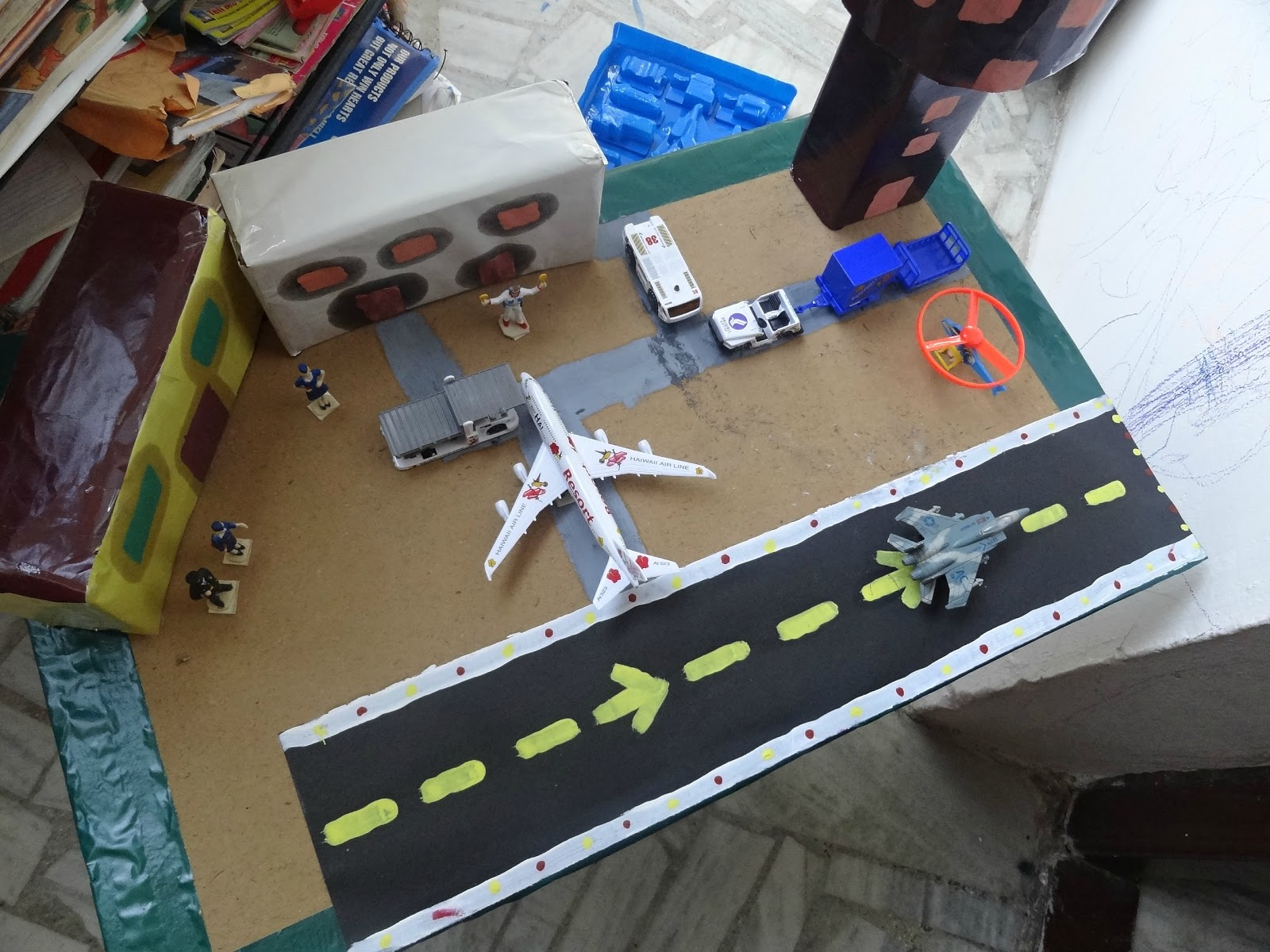 Straight From My Heart Building Airport Model
