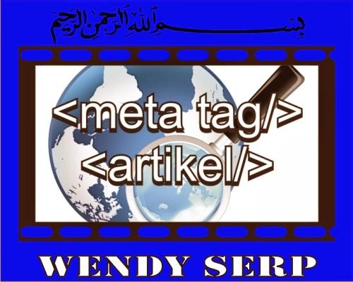 Perbedaan Title Tag dan Meta Tags Wendy SERP