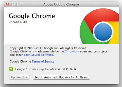 Google Chrome 14 za Mac OS X Lion download