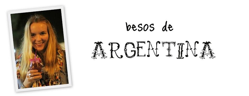 Besos de Argentina