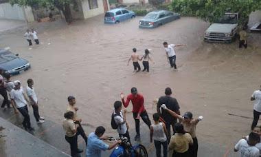 Gobierno regional atiende emergencias por lluvias en El Vigía