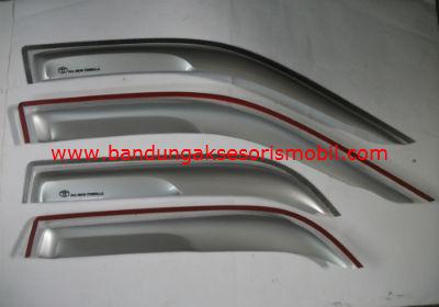 Talang Air All New Corolla Silver Mugen Depan Belakang