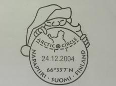 Sello de la Oficina Postal de Santa Claus