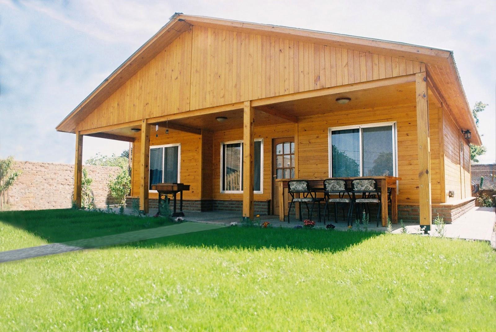 Arquitectura de casas modelos de casas prefabricadas - Casas madera economicas ...