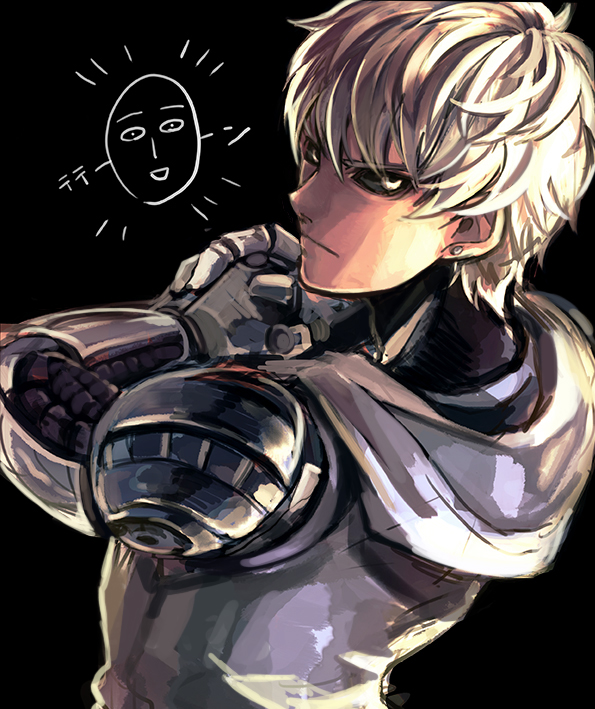 one punch man genos - photo #49