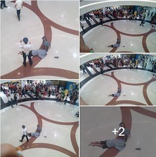Unidentified man jumps off 3rd floor of SM Bacoor
