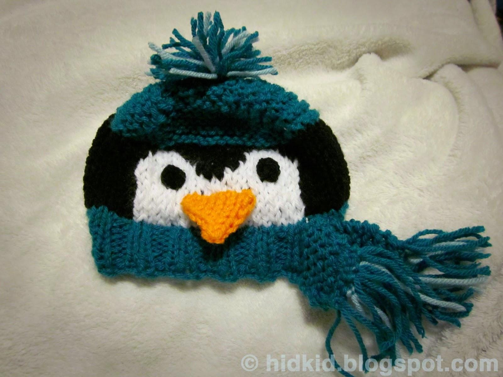 Craftimism penguin knit hat penguin knit hat bankloansurffo Images