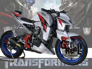 modifikasi byson ala transformer  paling bagus